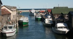 leland, mi, fishtown harbor
